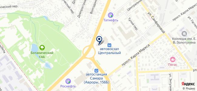 Элвес, ООО на карте