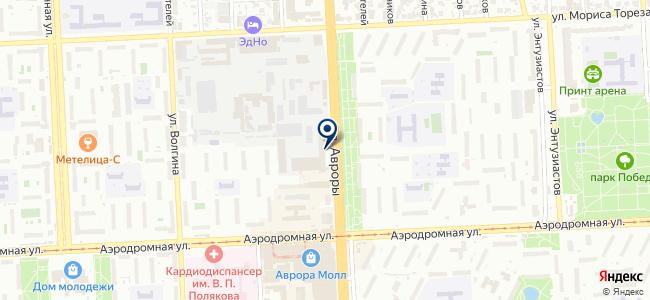 Герда, ООО на карте