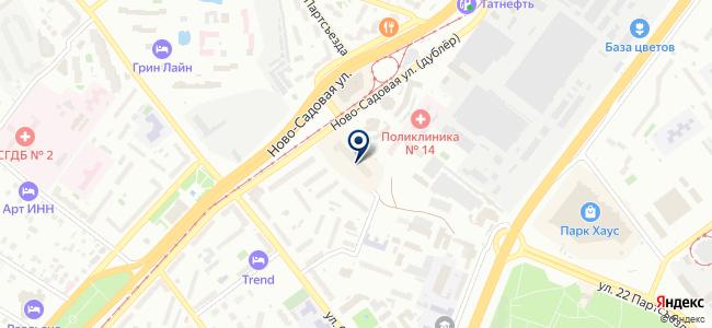 Электроника, ООО на карте