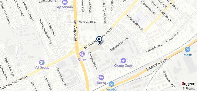 Альфа-Пожарная Безопасность, ООО на карте