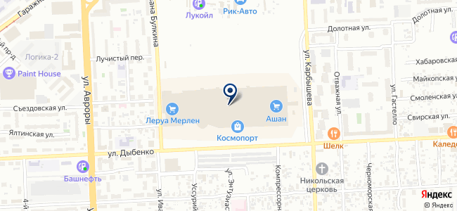 Леруа Мерлен на карте