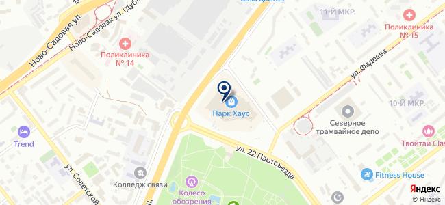 ЕвроМашКомплект, ООО на карте