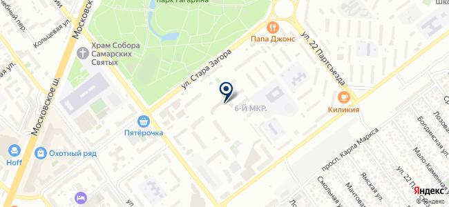 Самарский центр по продаже инструмента на карте