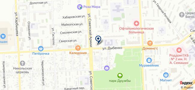 Вихрь-Моторс на карте
