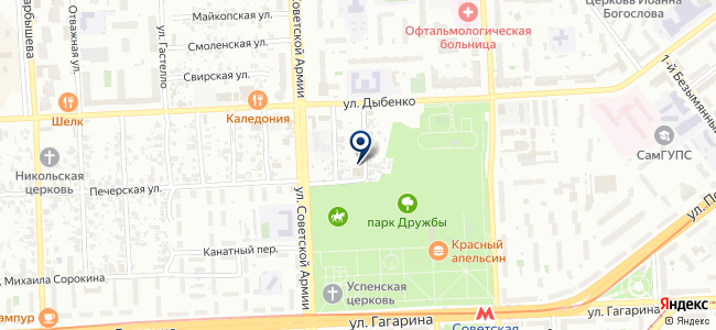 Блисс, ООО на карте