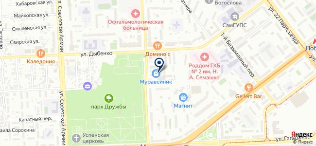 Салон светильников на карте
