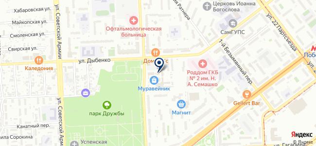 КВВ на карте