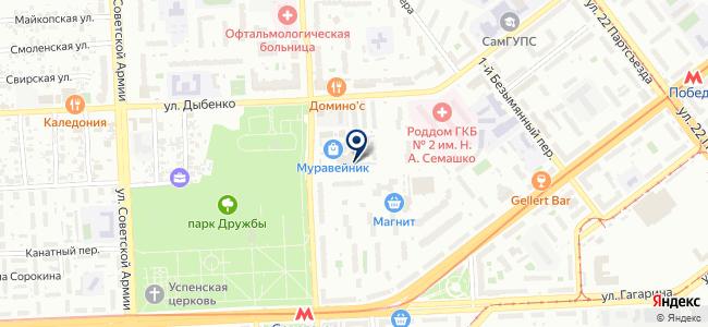 Аустенит, ООО на карте