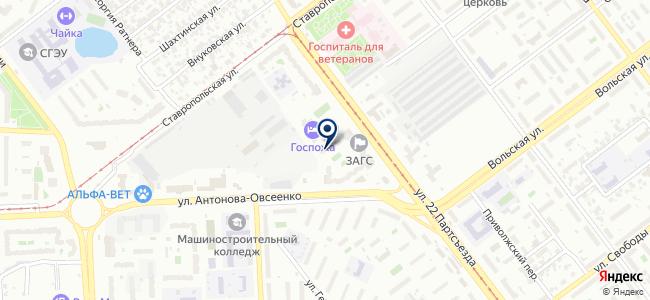 Центр Инструмент на карте
