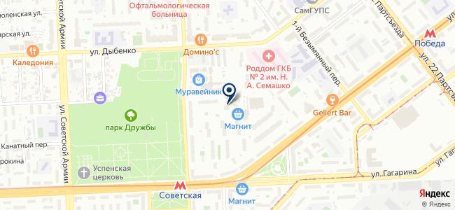 ЭТС на карте