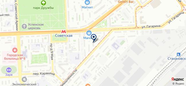 РосКабельСвязь, ЗАО на карте