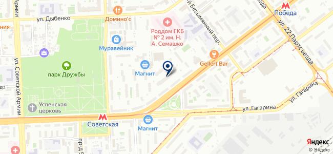 Техэнерго на карте