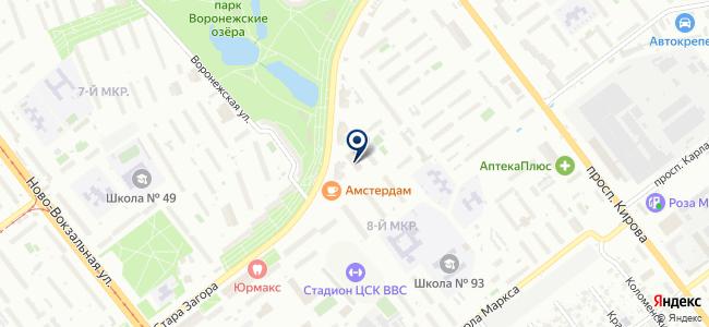 Самаракабель, ЗАО на карте
