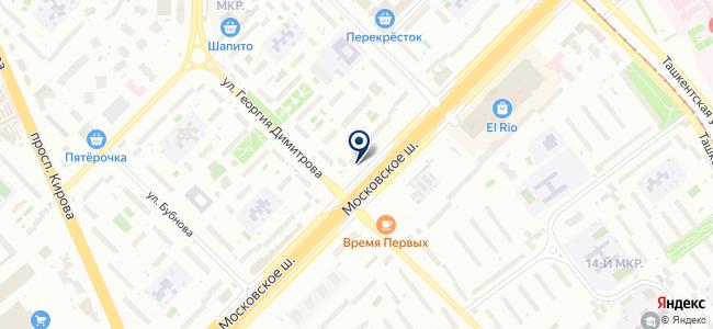 Эксо-Ставропрайс на карте