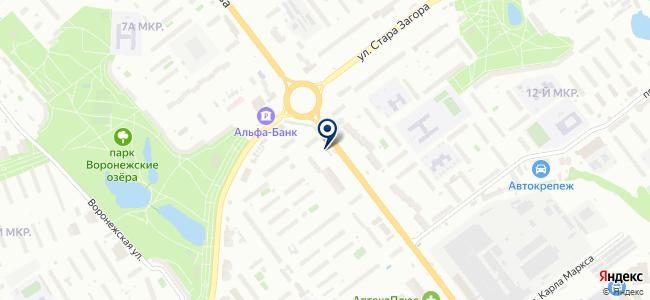 Фабрика Интерьера плюс на карте