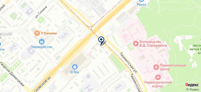 Самара-Гидроэлектромонтаж, ООО на карте