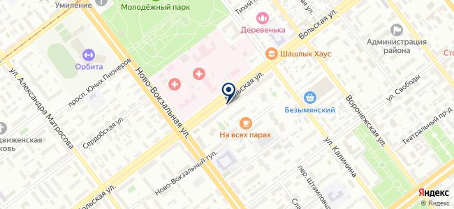 Инструменты, ООО на карте