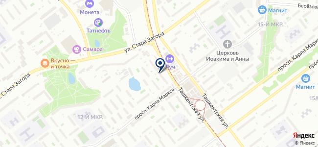 Техномир на карте