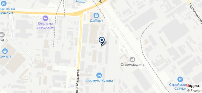 СамараТрансЭнергоСнаб, ООО на карте