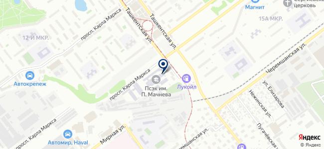 Элкор на карте