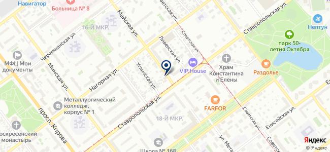 Промэлектро, ЗАО на карте