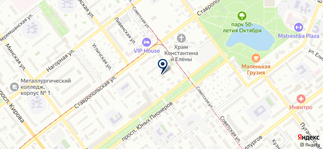 Премиум, ООО на карте
