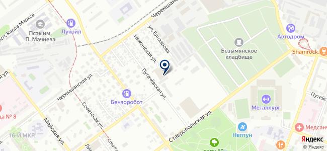 Аргос-М на карте