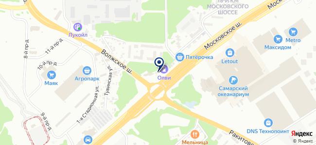 Центр светодиодного освещения на карте
