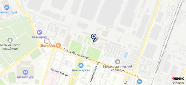 Уникариум на карте