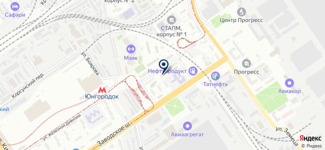 Инструментторг, ООО на карте