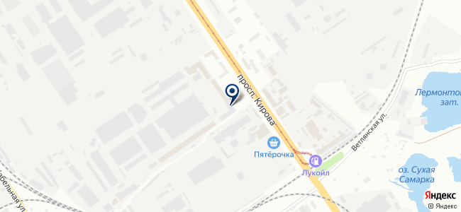 Поволжский центр РТИ, ООО на карте