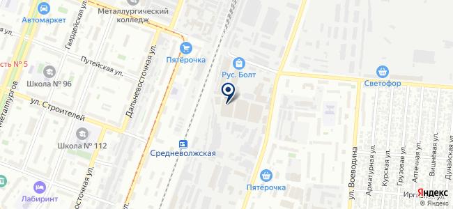 ТЭС-А на карте