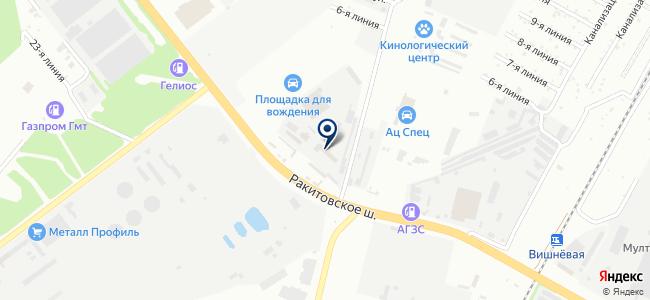 Средняя Волга, ООО на карте