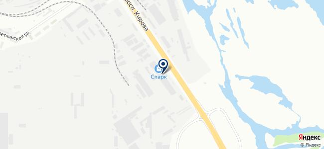 Спарк на карте