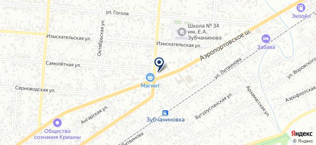 ГазТехник, ООО на карте