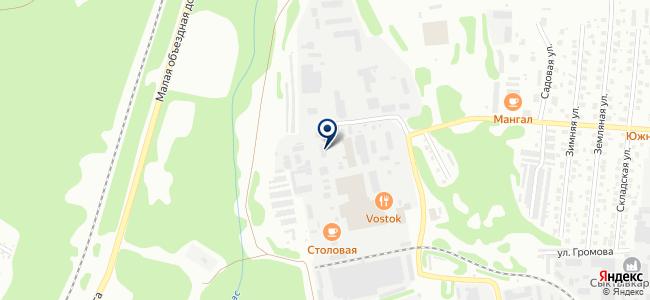 Технология, ООО на карте