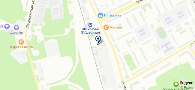 Апрель, ООО на карте
