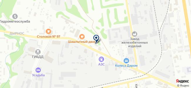 Пилотех-Коми, ООО на карте