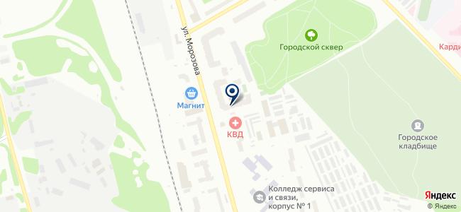 Метиз на карте