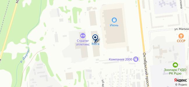 Инженерные системы проект, ООО на карте