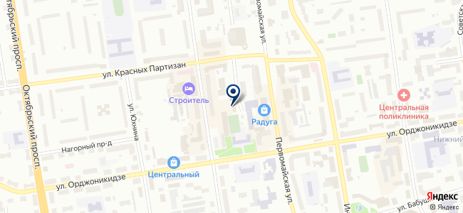 Литий, ООО на карте