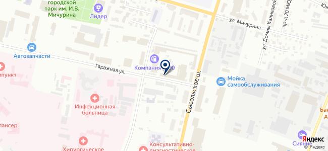 Технические системы и технологии, ООО на карте