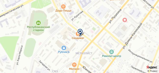 Первый ремонтно-строительный трест, ОАО на карте