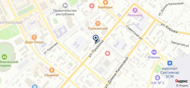 Свет Коми, ООО на карте