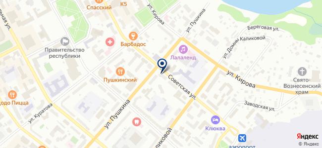 Видар, ООО на карте