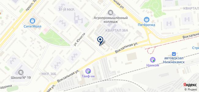 Рио, ООО на карте