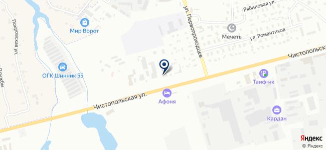 Татэлектромонтаж, ОАО на карте