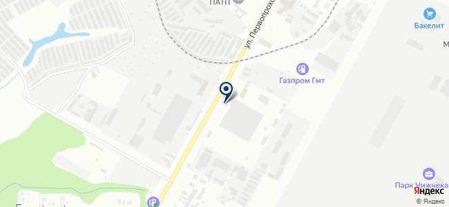 НПАТП №1 на карте