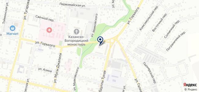 Молоток на карте