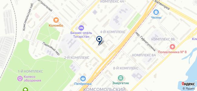 ТеплоПлэн-НЧ, ООО на карте